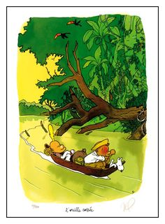 Titeuf Hommage Tintin par Zep