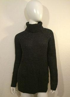 Kaufe meinen Artikel bei #Kleiderkreisel http://www.kleiderkreisel.de/damenmode/rollkragenpullover/114824046-gina-tricot-rollkragen-pullover-pulli-rolli-grau-s-38-wollpulli-strickpulli-hipster-blogger-chic