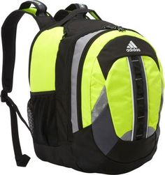 adidas Ridgemont Backpack Solar Yellow Black - via eBags.com! b136f98f92291