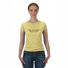 What Spina Bifida Means Tee Shirts