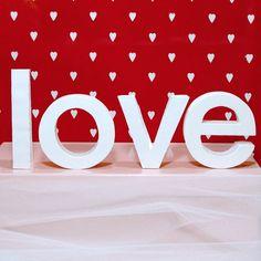Cute Little Letters in love by tucker reece on Etsy