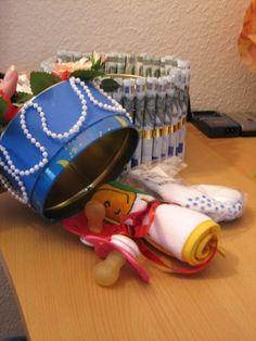 Geldgeschenk - Hochzeitstorte - creadoo.com