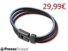 #http://freese-shop.de/  The new BMW M bracelet!!! #BMW Accessoires, #BMW M, #Sport