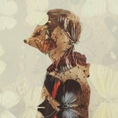 DOUBLE EXPOSURE PORTRAITS by Dan Mountford, via Behance