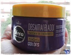 Viagens e Beleza: Máscara de Tratamento Desamarelador S.O.S Colors  ...