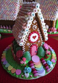 The Old Reader gingerbread house cookie house by sassybeautimus Cool Gingerbread Houses, Gingerbread House Parties, Christmas Gingerbread House, Gingerbread Cookies, Gingerbread Village, Christmas Goodies, Christmas Treats, Christmas Baking, Christmas Time