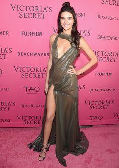 Kendall Jenner 2015 Victoria's Secret Show.