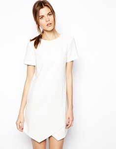 Image 1 of ASOS Clean Shift Dress