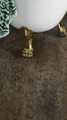 Vanntett bad og vaskerom - Aquarelle våtromsgulv - Tarkett . Lighting, Green, Furniture, Design, Home Decor, Marble, Watercolor, Corning Glass, Decoration Home