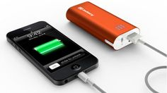Jackery Mini (Orange) Ultra-Compact Lipstick Size External Battery Pack Charger (Premium Samsung Battery Cell and Metal Enclosure Design) for iPhone 5 4 Universal Battery Charger, Battery Pack Charger, Portable Phone Charger, Iphone Charger, Galaxy Nexus, Galaxy S3, Galaxy Note, Samsung Galaxy, Best Travel Gifts