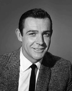 #Vintage and #Fashion -- #Update -- #SeanConnery 1960 -- #BlackTie
