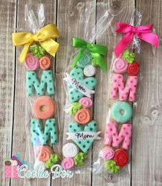 Trendy Cupcakes Decoration Ideas For Kids Cookie Decorating Ideas Mother's Day Cookies, Mini Cookies, Fancy Cookies, Valentine Cookies, Iced Cookies, Cute Cookies, Easter Cookies, Royal Icing Cookies, Cupcake Cookies