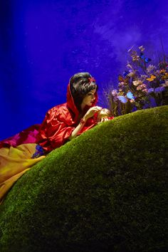 Harrods Disney Christmas Windows - Snow White by Oscar de la Renta <3