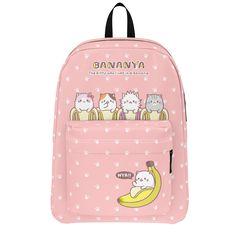 Bananya - Bunch of Bananyas Backpack
