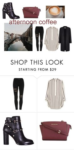 100 by slounis on Polyvore featuring moda, MANGO, Valentino, MICHAEL Michael Kors, women's clothing, women's fashion, women, female, woman and misses