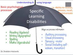 specific learning disabilities - Google Search