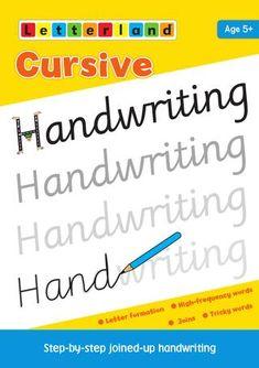 "Cover of ""Cursive Handwriting"""