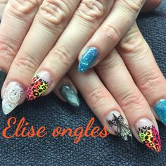#nailart #nails #color # stamping #marble
