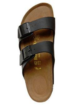 447c2bdfb91 Birkenstock Utomhustofflor & Träskor - black - Zalando.se Sandaler, Boots,  Sneakers,
