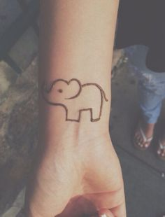 Easy elephant henna                                                                                                                                                                                 More