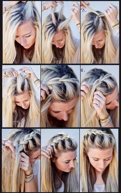 Easy No Heat Hairstyles For Medium Or Long Length Hair - Hair Styles For School No Heat Hairstyles, Diy Hairstyles, Hairstyle Tutorials, Braid Tutorials, Summer Hairstyles, Beauty Tutorials, Summer Hair Tutorials, Wedding Hairstyles, Gorgeous Hairstyles