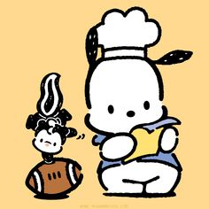Find out what #Pochacco is cooking up in anticipation of the big game!