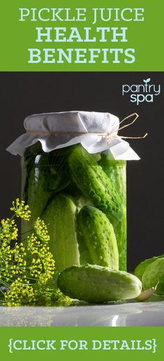 Dill pickle juice is good for several things. It contains vinegar, which is good for fighting infections and can aid muscle cramps. It contains antioxidants that are good for your body and nutrients that aid in several bodily functions.