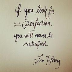 imperfect - leo tolstoy   frases   Pinterest   Leo Tolstoy, Leo ...