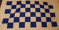 Large #chequered football blue #white body wrap wall flag #chelsea leicester city,  View more on the LINK: 	http://www.zeppy.io/product/gb/2/401157243024/