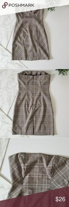 Patterned Strapless Dress Patterned Strapless Dress BCX Dresses Strapless