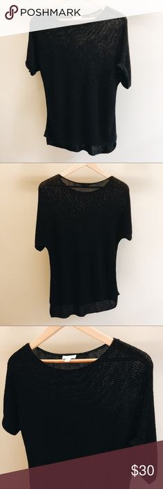 J. Jill Linen Blend Top Long linen blend oversized top. Perfect with a cami and leggings. J. Jill Tops