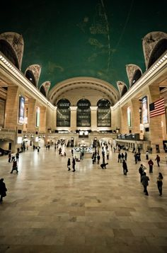 Grand Central Station in New York! I saw this on The Next Iron Chef! I would like to see this in person.