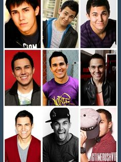 Carlos throughout the years :) found on tumblr