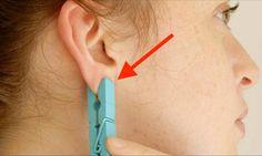 Waarom iedereen een wasknijper op zijn oor zet