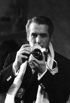 Paul Newman behind the camera