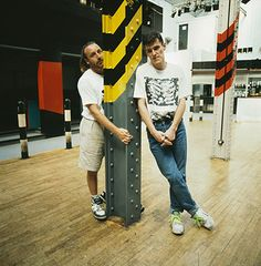 Peter Hook and Stephen Morris of New Order at the Hacienda club in Manchester, circa 1985 Photograph: Kevin Cummins/Getty Images Music Film, Dance Music, House Music, Music Is Life, Clubs In Manchester, Gillian Gilbert, History Of Dance, Factory Records, Acid House