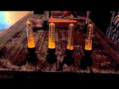 How to make Mad scientist's flickering coils from Halloween Forum