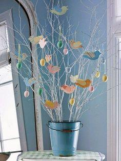 Het is al bijna Pasen! Op de valreep nog 10 leuke ideeën om je paastak te versieren. Alvast hele mooie Paasdagen toegewenst!