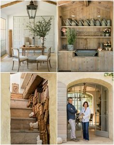 PATINA FARM | The Giannetti's stuck to a natural palette that works nicely with the indoor - outdoor lifestyle that connects the interiors with the lush landscape.