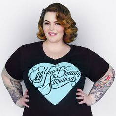 Tess Holiday: Eff Your Beauty Standards shirt.