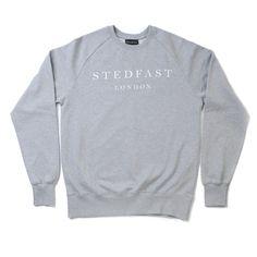 Stedfast London grey sweatshirt mens