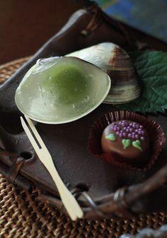 ~夏の和菓子とともに~日本茶出張レッスンを行いました