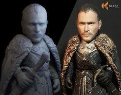 Jon Snow for 3d printing model | 3D Print Model