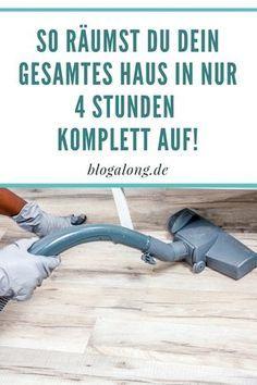 So schnell kannst du dein Haus aufräumen! #putzen #reinigen #aufräumen #ausmisten #alltag #haushalt #tipps #tricks #hacks #hausfrau #blogalong