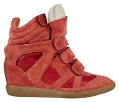 Isabel Marant Bekket Over Basket Wedge Sneaker Size 11 CHERRY RED Athletic Shoes. Get the must-have athletic shoes of this season! These Isabel Marant Bekket Over Basket Wedge Sneaker Size 11 CHERRY RED Athletic Shoes are a top 10 member favorite on Tradesy. Save on yours before they're sold out!