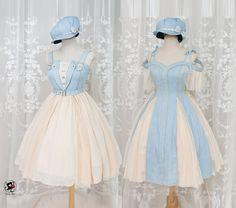 """lolita-wardrobe: """" Preorder Deadline Reminder: 【Fantastic Wind -Harmonium- Series】 will be 【NOT available after Tomorrow (April ● Don't Miss This Series! Outfits Kawaii, Kawaii Clothes, Kpop Outfits, Cosplay Outfits, Retro Outfits, Dress Outfits, Fashion Dresses, Cute Outfits, Kawaii Fashion"""