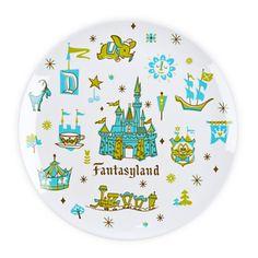 Fantasyland Plate - 8'' | Disney Store