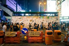 HK Umbrella Revolution 2014