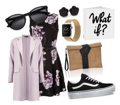 """""""Lobi lilachill"""" by sarahscheinfeld on Polyvore featuring Boohoo and Vans"""