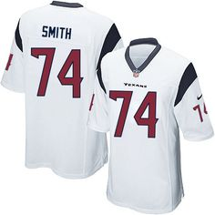 Wade Smith Jersey Houston Texans #74 Youth Limited Jersey White Nike NFL Jersey Sale